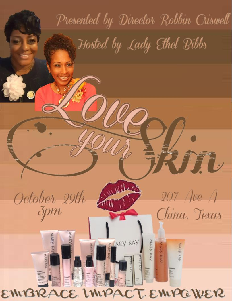 Love Your Skin Promotional Flyer-Original