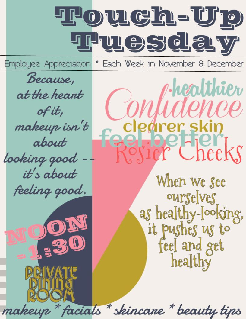 Touch-Up Tuesday Employee Appreciation Promotional Flyer-Original