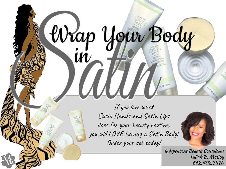 Satin Body Promotional Flyer