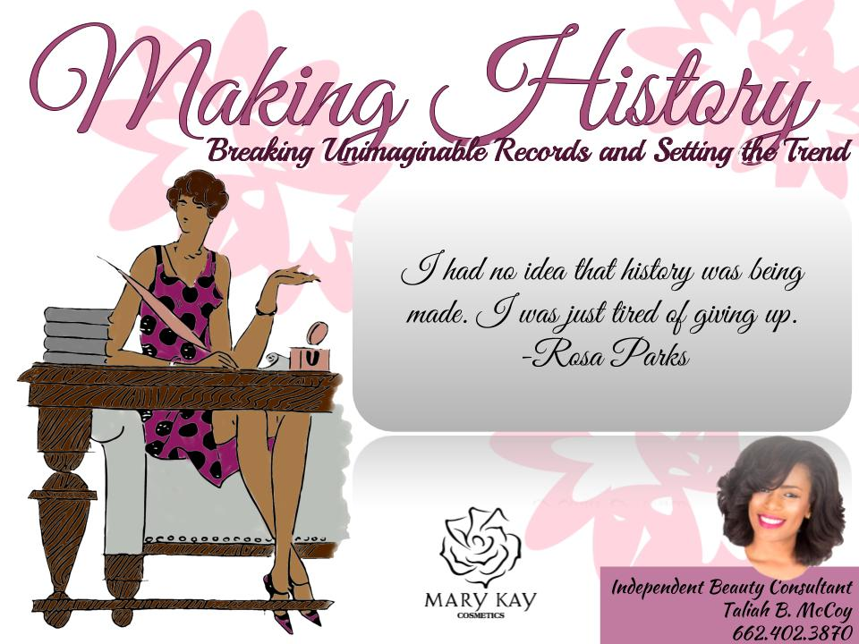 Making History Promotional Flyer