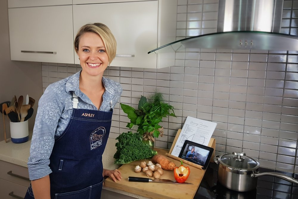 Cook With Me... - I invite you to join me in my kitchen each week to cook with me LIVE. It's free, fun and packed full of delicious and healthy skills!