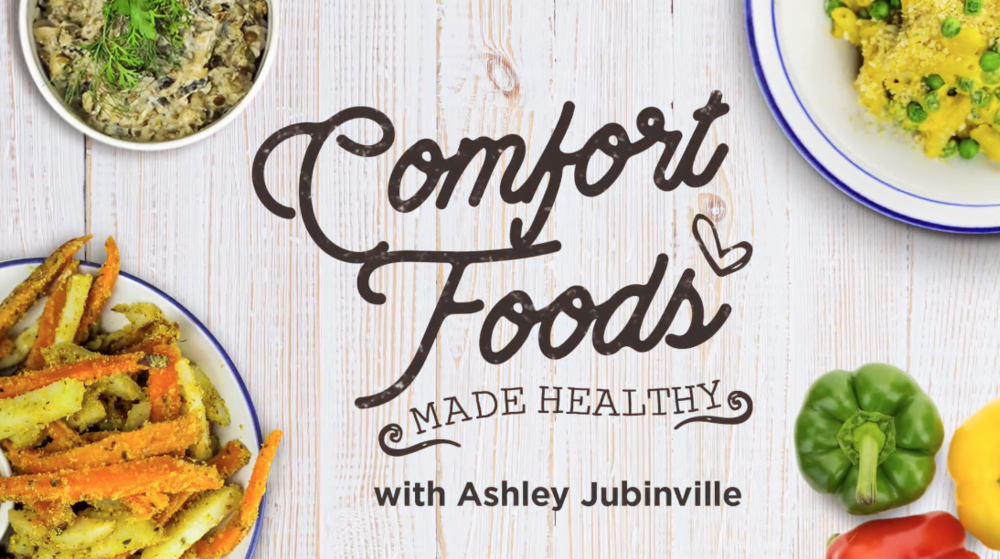 This blog post is brought to you by FMTV, the host to my Comfort Foods Made Healthy Series.