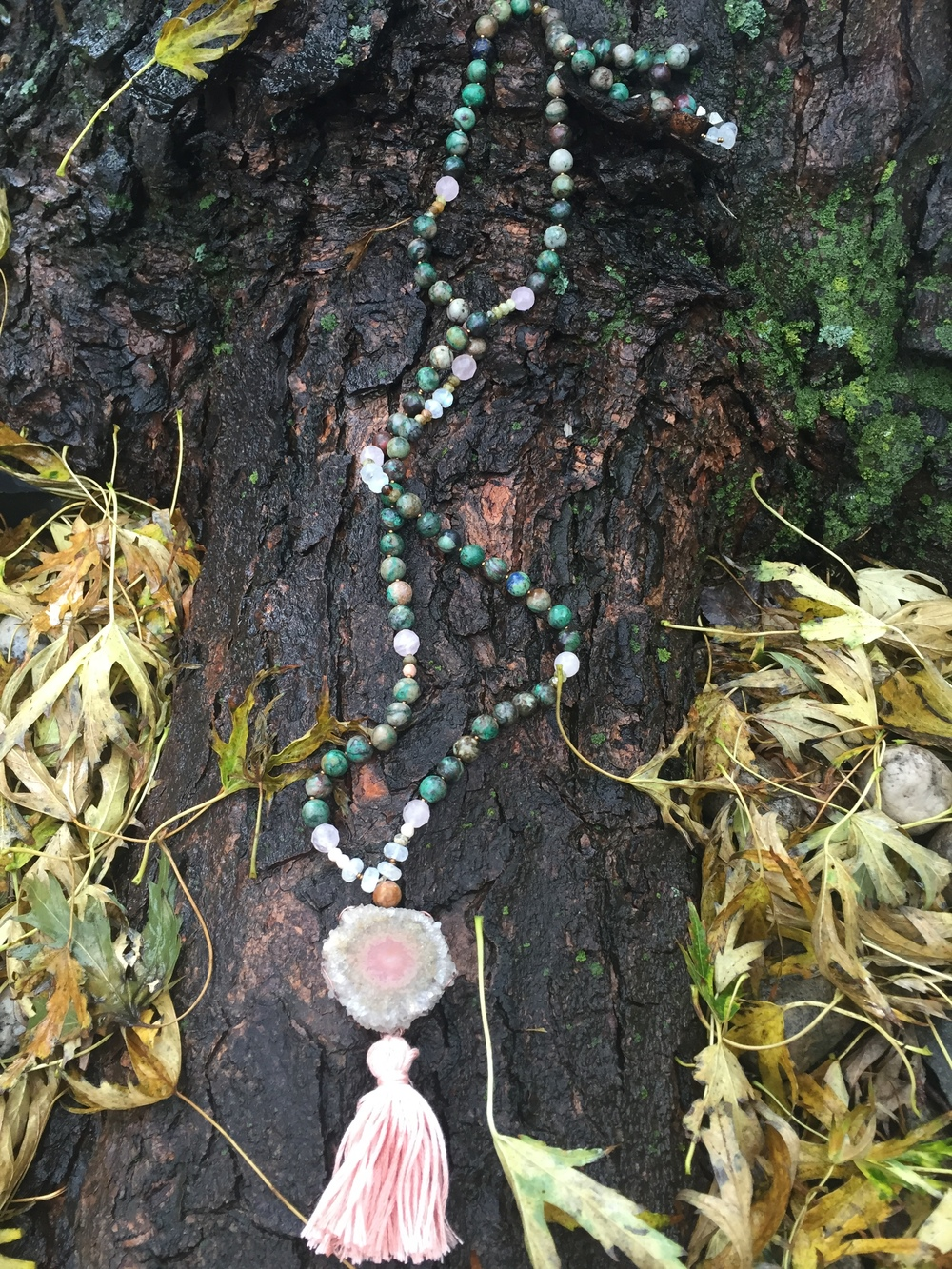 Earth and Heart Mala