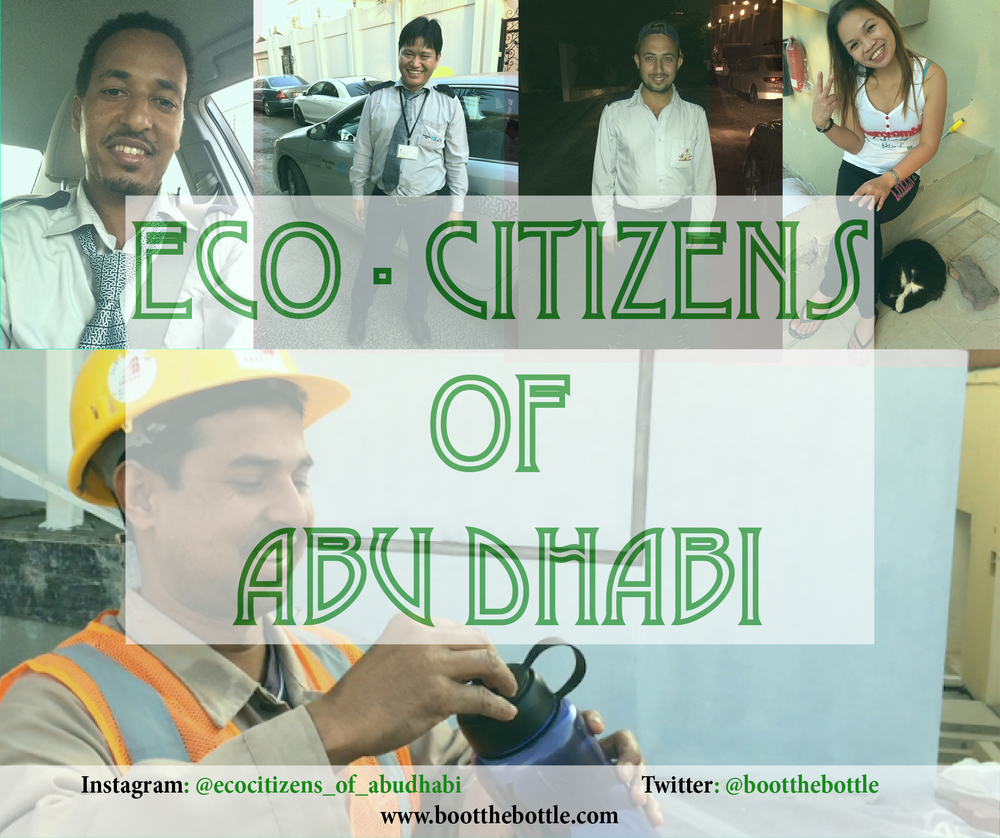 Introducing Ecocitizens of Abu Dhabi, a project which is dedicated to sharing stories of people who make the effort to live sustainably.