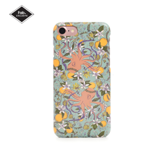 Cephalo Flower iPhone Case @Fab.com