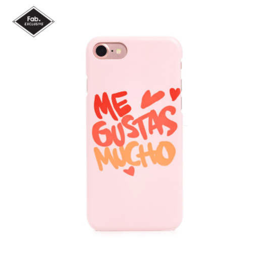 Me Gustas Mucho iPhone Case @Fab.com