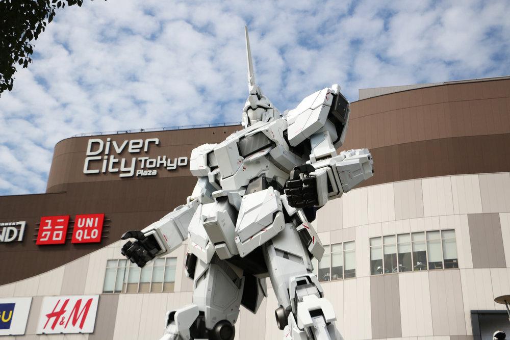 DiverCity Tokyo Plaza in Koto