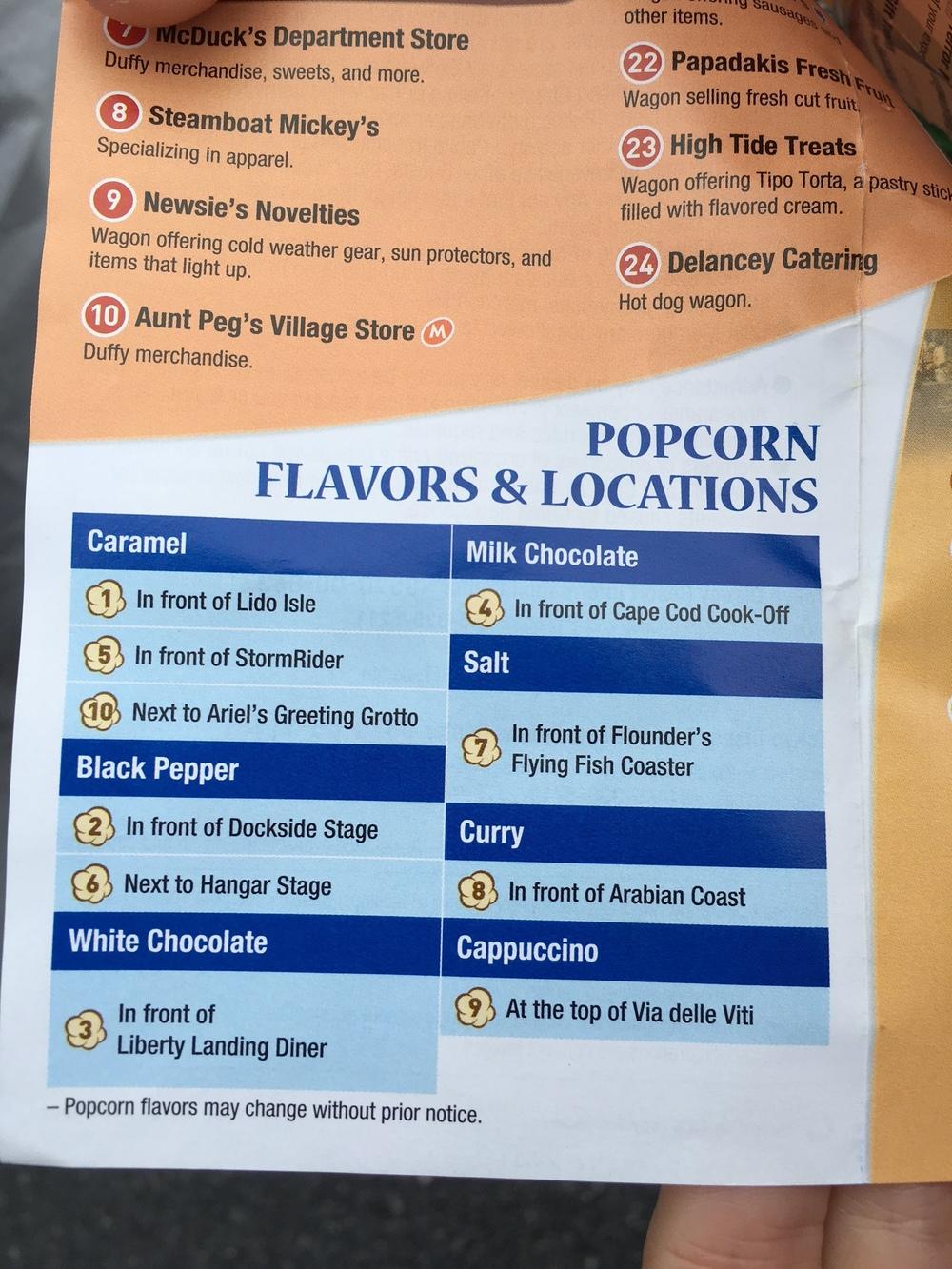 Popcorn Options