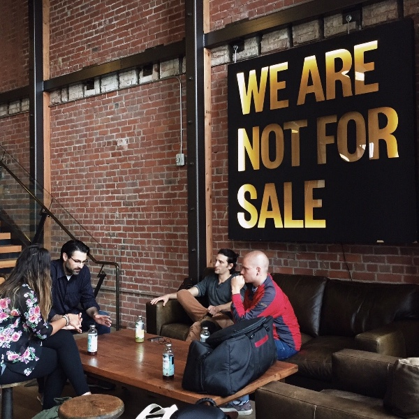 Shema team meets Not For Sale co-founder