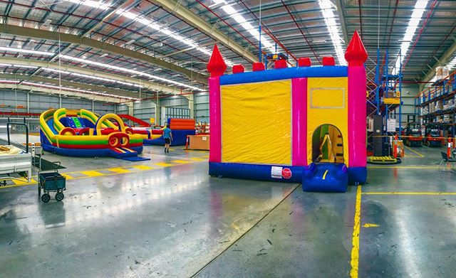 Bounce World @ DHL #Melbourne #inflatables #jumpingcastle #bounceworld #bounce