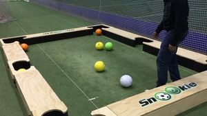 pool adjust soccer table challenge introducing productlist human billiards