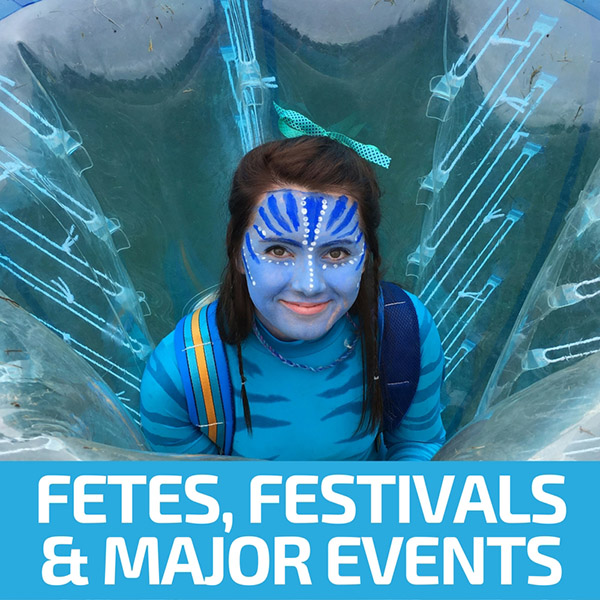 School Fetes, Festivals & Major Events