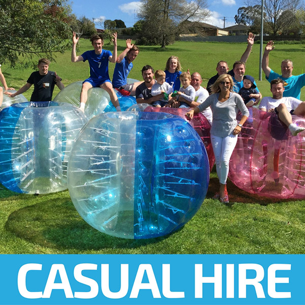 Casual Hire - Bubble Soccer