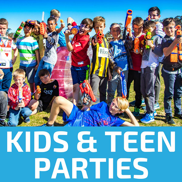 Kids Parties & Teenage Birthdays