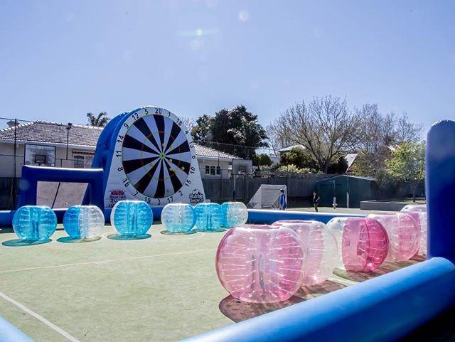 School holidays heaven 🎉⚽️ #footdarts #soccerdarts #footballdarts #bubblesoccer #melbourne #schoolholidays #partyhire #melbourneparty #melbourneevents #melbournewedding #inflatable #soccer #soccerpitch #kidsheaven #heaven #soccerheaven #footballheaven #bubblefootball #bubbleball #darts #melbournepubs #melbournefood #melbourneeats