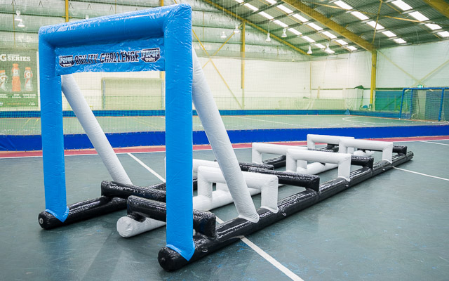 <p><strong>Agility Challange</strong>Interactive Obstacle Course.<i>See More →</i></p>