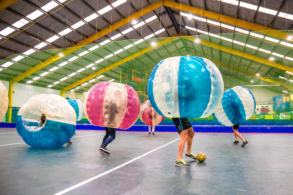 Indoor Bubble Soccer - Knoxfield, Vic