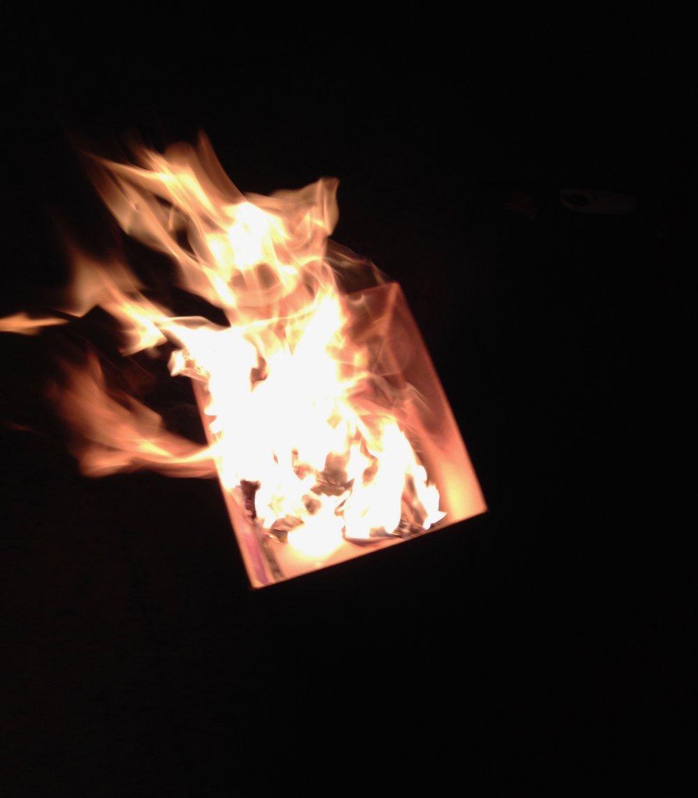 Burn the hard copies