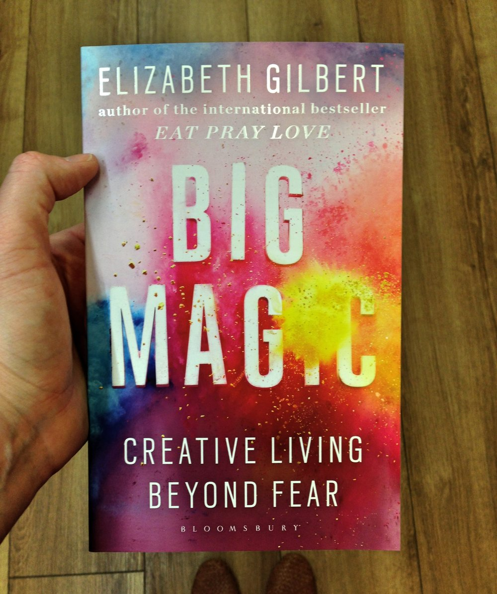 BIG MAGIC - THE DOORWAY TO YOUR CREATIVE ZONE