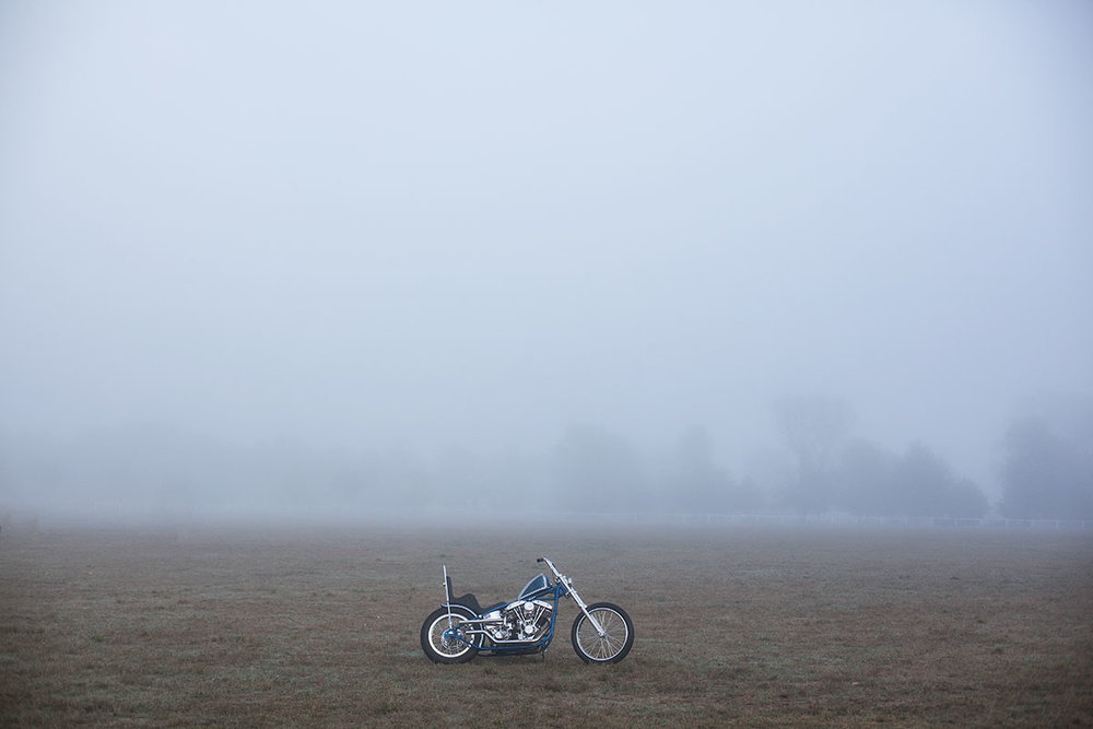 Choppers in the mist