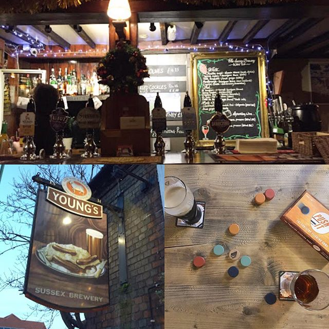 Rainy day Pub Push IT!! We left a set at Sussex Brewery Emsworth, nestling on there games shelf. Go along and play.  #rainydays #pubgame #beer