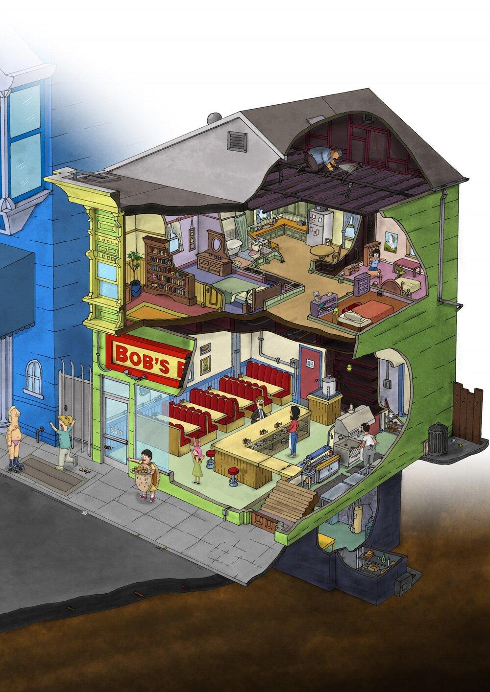 Bob's Burgers - House
