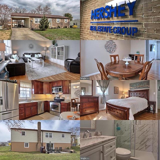 New Listing by Hershey Real Estate Group  Price $179,900  8100 Somerset St, Hummelstown, PA 17036 3 beds, 2 baths, 1,232 sq ft  Call or message me to schedule a showing!  #HersheyREG