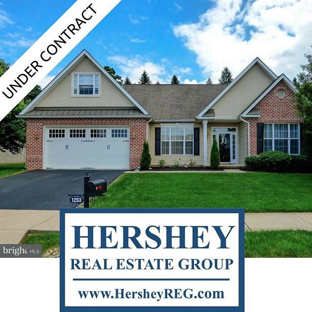 Under Contract by @hersheyrealestategroup  Congrats to my buyers!!!