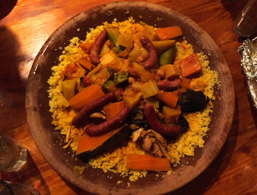 Delicious Moroccan CousCous