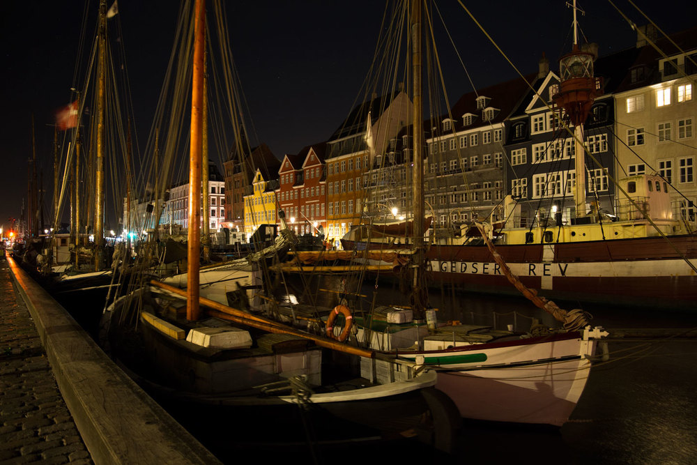 The most iconic spot of Copenhagen shot from a different spot.