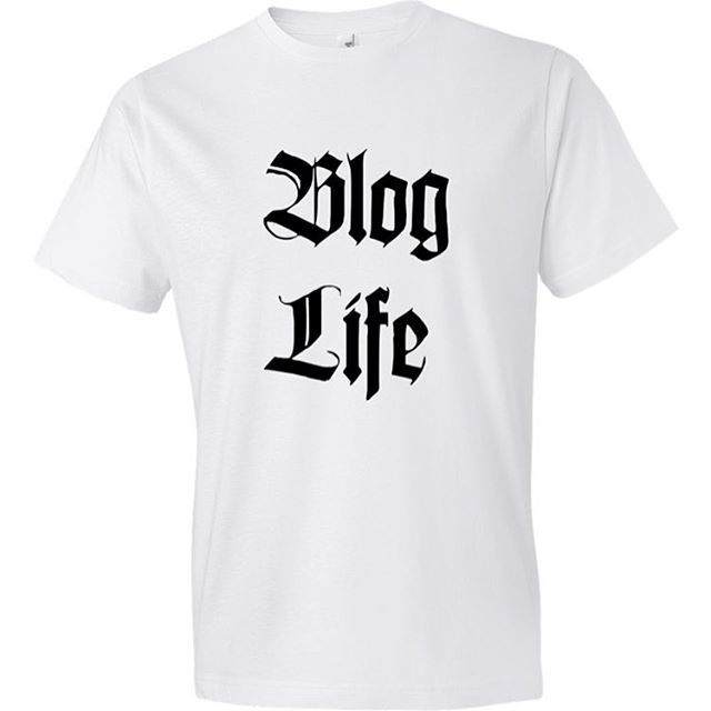 New blogger tshirt available at designuntapped. #bloggerswag #swag #desiguntapped #tshirt #design
