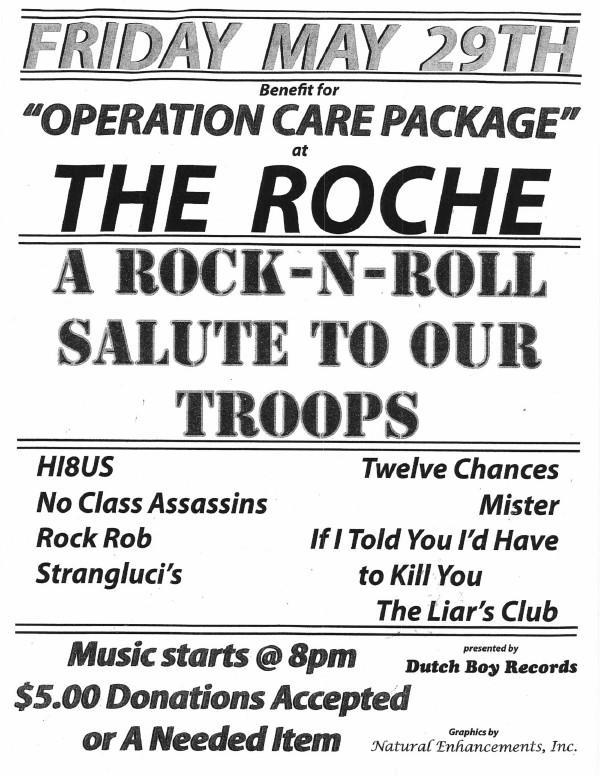 Roche salute our troops.jpg