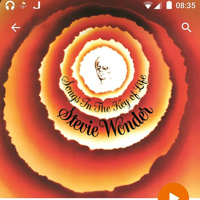 It's amazing how great friends and a little Stevie Wonder is so good for the soul.