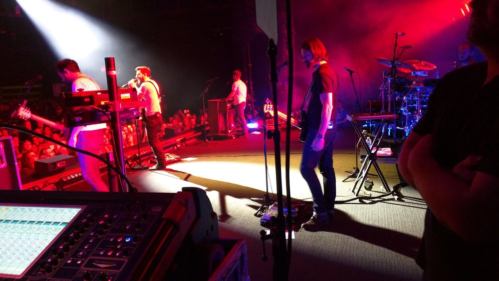 Assisted on live recording for Old Dominion at Joes Live Rosemont, IL