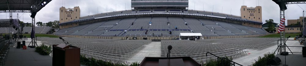 FOH for Northwestern University Commencment 2016