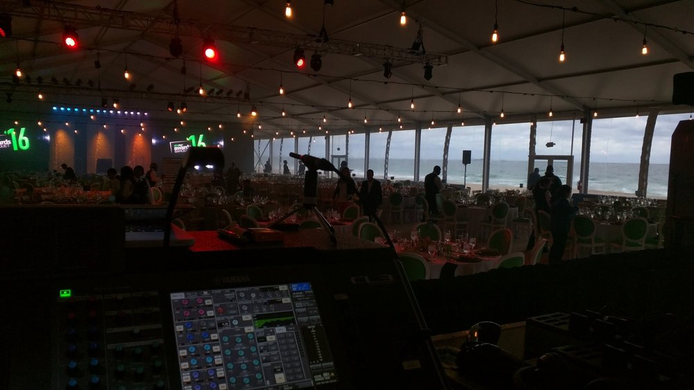 Corporate show on the Beach in Daytona Beach, FL