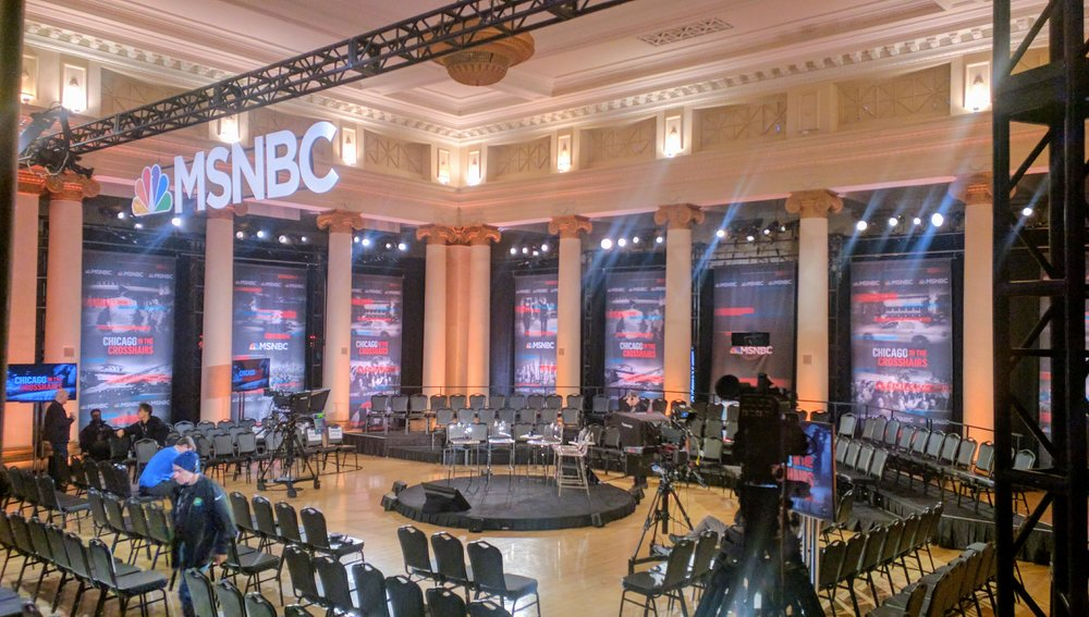 FOH:  MSNBC's All In with Chris Hayes