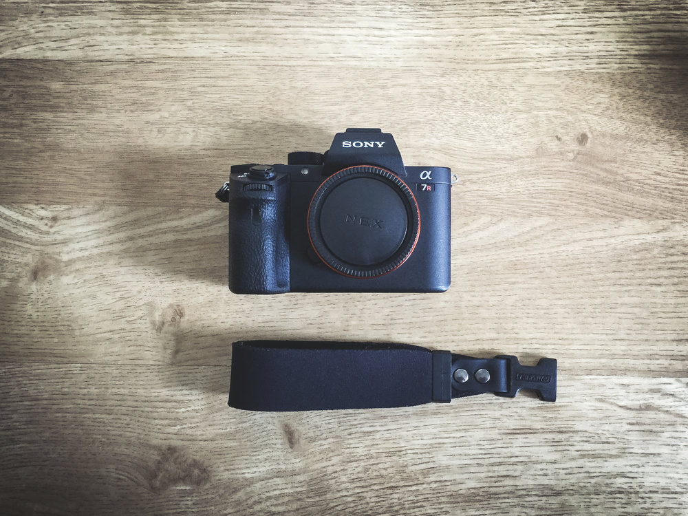 Sony A7R II - My new main camera since this year. It's a lovely camera that has never let me down. Image quality is unbelievable and handling super smooth. The main reason why I upgraded from Sony a6000 was the ability to shoot full-frame, particularly for portraits.I also use a custom wrist-strap instead of the strap Sony ships, mostly because it allows me to move the camera more freely and securely.