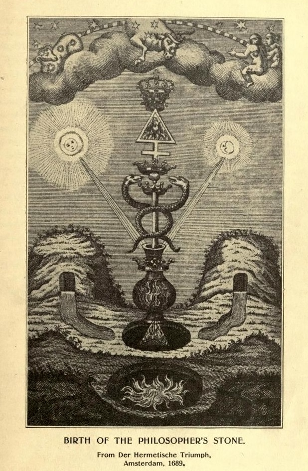 """Birth of the Philosopher's Stone"" 