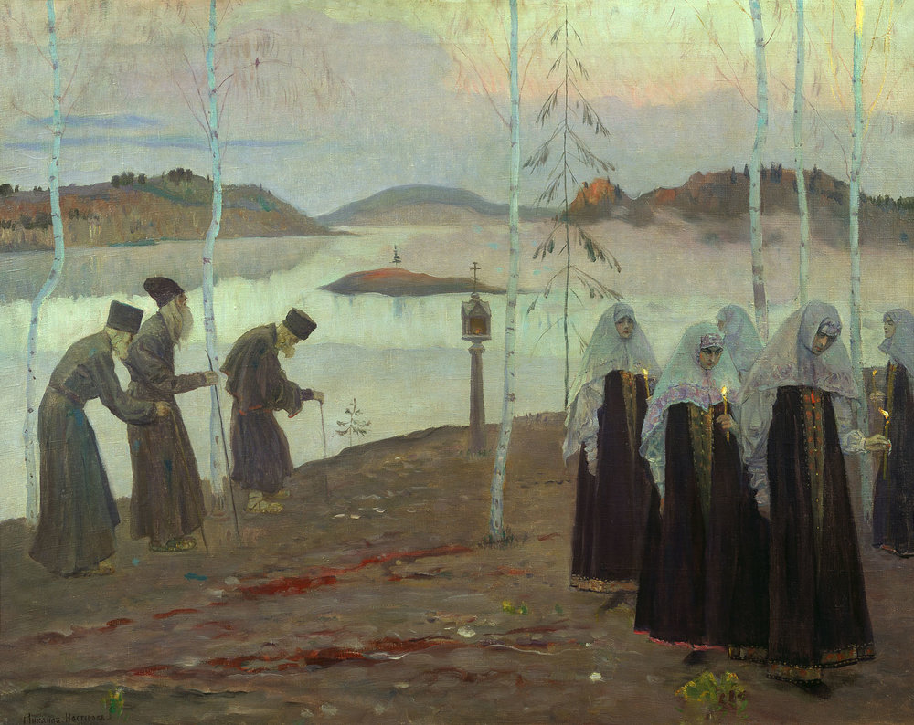 Hermit Fathers and Immaculate Women | Mikhail Nestertov | 1932