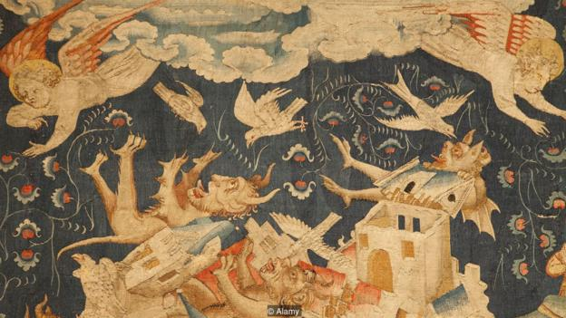 French tapestry | Gallery of the Apocalypse | sourced via Alamy