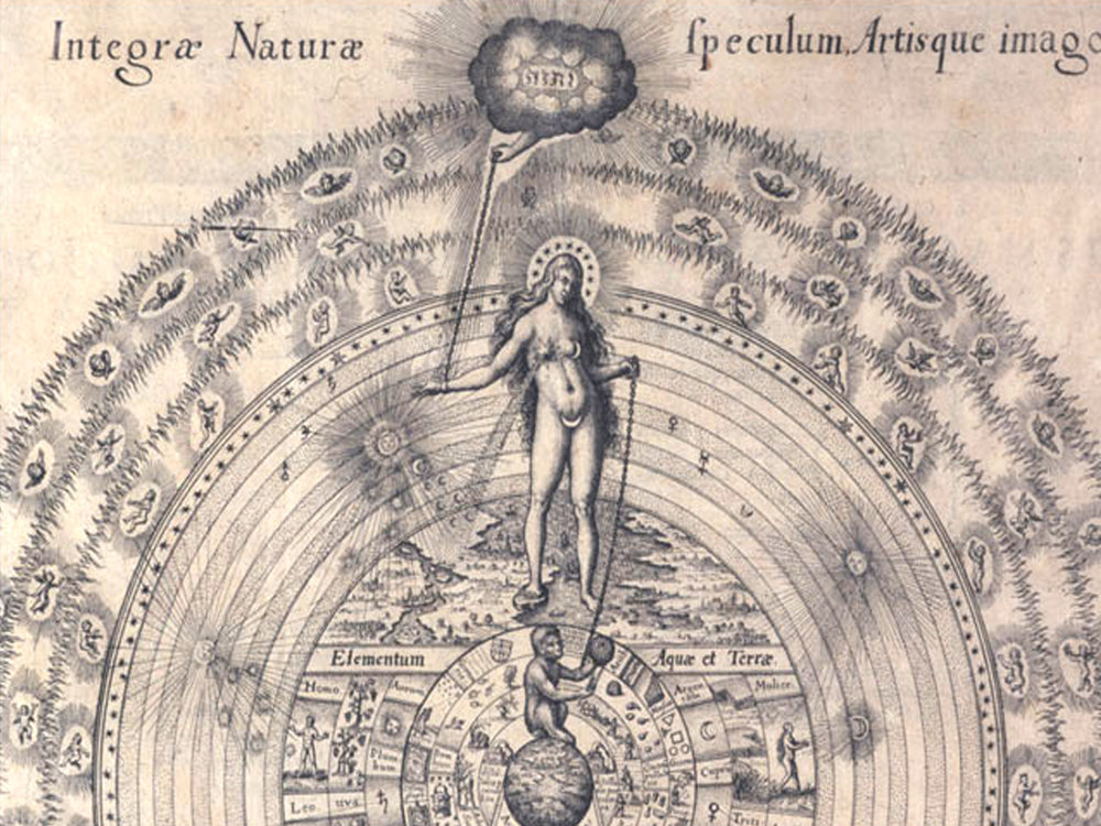 Integrae Naturae | Robert Fludd | 1624 | sourced via publicdomainreview.org