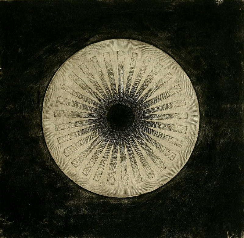 Robert Fludd | Light Flowing Forth From Darkness | 1617 |bsourced via archive.org