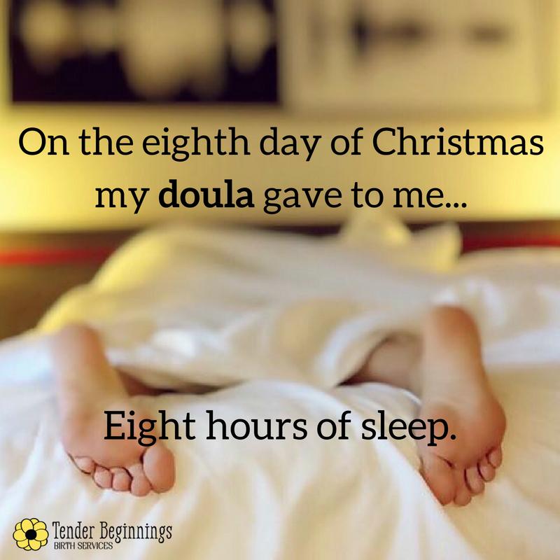Doula Christmas- Sleep