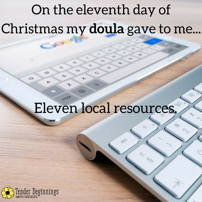 Doula Christmas- Resources and Referrals