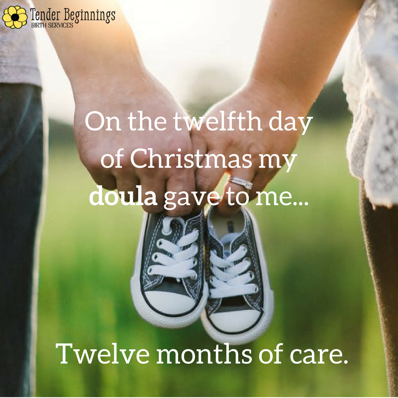 Doula Christmas- Pregnancy Birth Parenting Support
