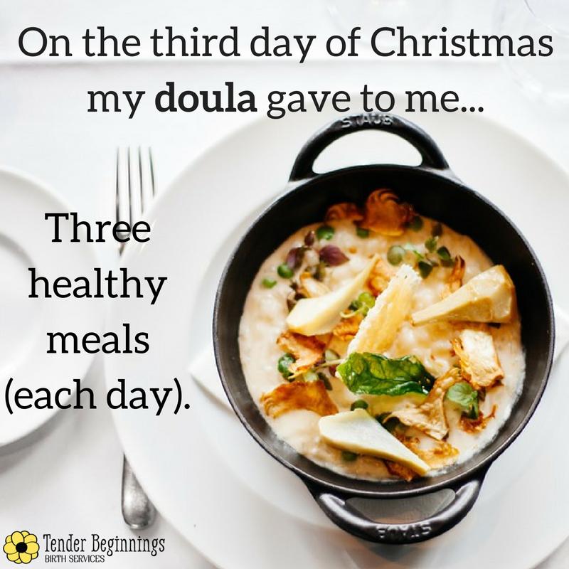 Doula Christmas- Meals