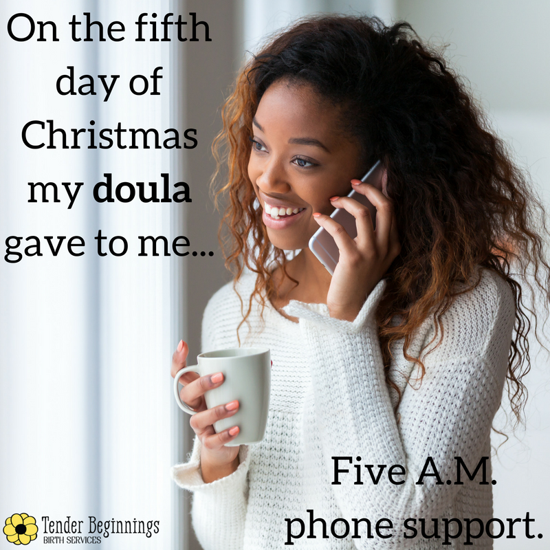 Doula Christmas- 24/7 Support