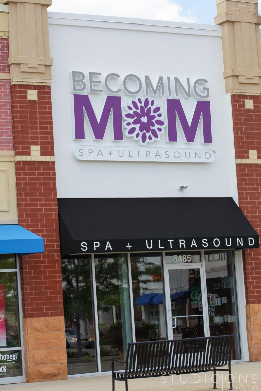 Becoming Mom Spa Ultrasound Cincinnati Dayton