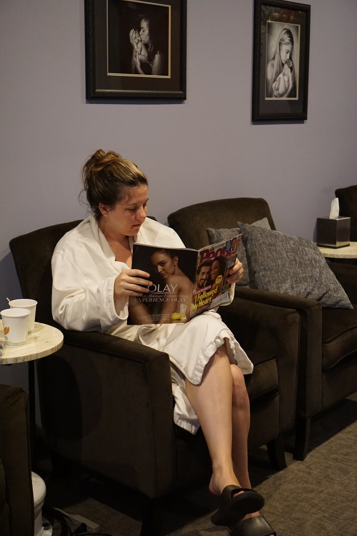 Pedicures Facials Pregnancy Cincinnati mom